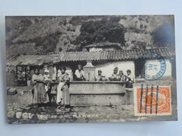 C. P. A. : Guatemala : ZUNIL, Pila Publica, Sello 1926 - Guatemala