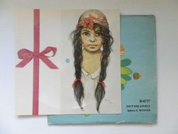 45 Rpm Polish Flexi Card / S Wonder Isnt She Lovely  / Very Rare - Special Formats