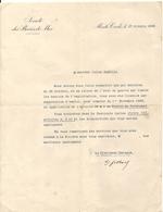 MONTE CARLO . SBM .LICENCIEMENT CAUSE GUERRE 39/45 - Documents Historiques