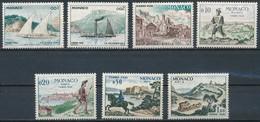 °°° MONACO - Y&T N°56/62 TAXE - 1960 MNH °°° - Monaco