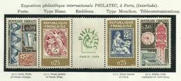 FRANCE - 1964 - BANDE PHILATEC - YT N° 1417A - TIMBRES NEUFS** - Frankreich