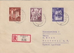 General Gouvernement Lettre Recommandée Krakau 1941 - 1939-44: 2ème Guerre Mondiale