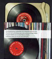 Schweiz Suisse 2014: National-Hymne Chant National (disque CHF 5.00) Bonus-Folder O Zu 1524 Mi Block 56 (SBK CHF 18.00) - Musik