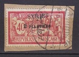 Colonies Françaises - SYRIE -  1924 - Timbre Oblitéré N° YT 114 - Prix Fixe Cote 2015 à 15% - Gebraucht