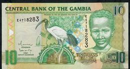 GAMBIA P26b 10 DALASI (2009)  Prefix E Signature 15 UNC. - Gambia