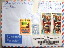 Syria,Syrie,letter Send With Beautiful Stamps 2015,cover. - Syrie