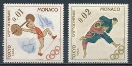 °°° MONACO - Y&T N°654/55 - 1964 MNH °°° - Monaco