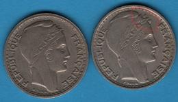 FRANCE 10 Francs 1946 Turin  Rameaux Longs F. 361/3 - KM#908.1 - France
