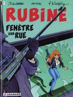 RUBINE T 2 EO BE LOMBARD 09/1994  Mythic Walthéry (BI1) - Editions Originales (langue Française)