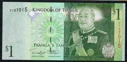 TONGA P37 1 PAANGA  (2008)  Prefix C UNC. - Tonga