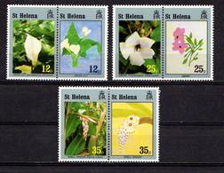 SAINT  HELENA    1994    Flowers  And  Childrens  Art    Set  Of  6    MNH - Saint Helena Island