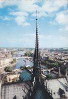 CPA 75 @ PARIS NOTRE DAME - CATHEDRALE La Flèche Du 19° S. De L'architecte Eugène Viollet-le-Duc Et Les APOTRES - Notre Dame De Paris