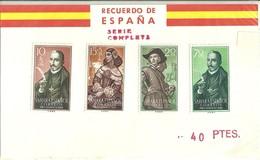 "3305 ""SAHARA SPAGNOLO-PRO INFANCIA-1959 "" 4 VALORI NUOVI - Sahara Spagnolo"
