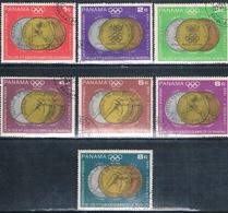 Panama 1968  -  Yvert  475 / 81  AEREOS  ( Usados ) - Panamá