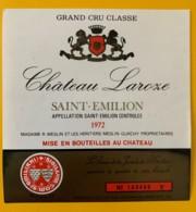 10350 - Château Laroze 1972 Saint Emilion - Beaujolais