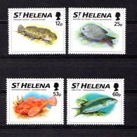 SAINT  HELENA    1994    Fish    Set  Of  4    MNH - Saint Helena Island