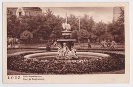 LODZ - Park Sienkiewicza - Poland Stamp Cancellation 1939 - Pologne