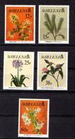 SAINT  HELENA    1994    Flowers  2nd  Series    Set  Of  5    MNH - Saint Helena Island