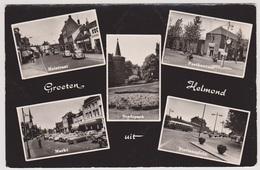 Helmond - Heistraat/Markt/Postkantoor/Stationsplein/Stadspark - Helmond