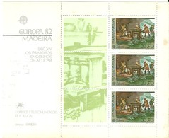 """3306 """"EUROPA 82-MADEIRA-SEC.XV OS PRIMEIROS ENGENHOS DE ACUCAR """" FOGLIO - Madeira"""