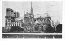 Paris (75) - Notre Dame De Paris - Vue Latérale - Notre Dame Von Paris