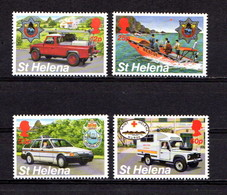 SAINT  HELENA    1995    Emergency  Services    Set  Of  4    MNH - Saint Helena Island