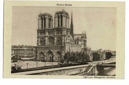 LA CATHÉDRALE NOTRE DAME DE PARIS - Eglises