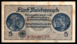 DEUTSCHLAND - ALLEMAGNE - 5 Reichsmark - 1939-45 - WW II - R138a - VF / TTB - [ 4] 1933-1945 : Third Reich