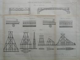 ANNALES DES PONTS Et CHAUSSEES (Norvège) - Voies De Communication En Norvège - Gravé Par Macquet 1887 (CLC98) - Travaux Publics
