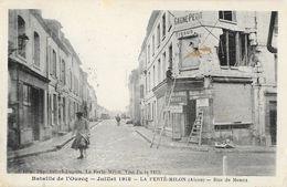 La Ferté-Milon (Aisne) - Rue De Meaux Après La Bataille De L'Ourcq (Ruines Du Bombardement Juillet 1918) - Francia