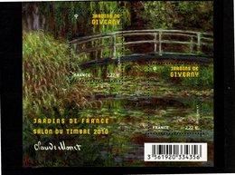 Blocs & Feuillets N° F4479 **--Jardins De France--2010-- Timbres N° 4479 & 4480 - Mint/Hinged