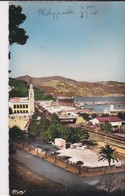 PS / ALGERIE . Cpsm 9X14 . PHILIPPEVILLE . Echappée Sur  La Ville Et Bord De Mer - Andere Steden