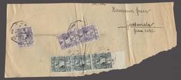 GUATEMALA. 1901. Internal Multifkd Reg Package Front Addressed To Guatemala City. 18c Rate. - Guatemala