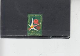 PORTOGALLO  1958 - Unificato  843 - Expo - Usati