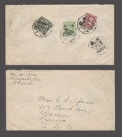 China - XX. 1946-8. Wusih - USA / Warren. Reverse Ovptd Multifkd Mixed Issues Ovptd. Rated 1,100 Yuan. - China