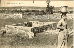LE CAUSSE ILLUSTRE - RETOUR De LA SOURCE - - France