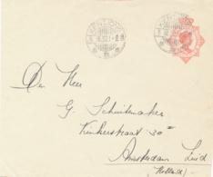 Nederlands Indië - 1932 - 12,5 Cent Wilhelmina, Envelopvoorzijde Van LB KENTJONG Naar Amsterdam / Nederland - Front Only - Nederlands-Indië