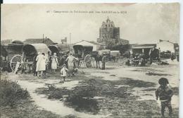 SAINTES MARIE DE LA MER - Campement De Bohémiens - Saintes Maries De La Mer
