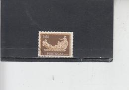 PORTOGALLO  1954 - Unificato  806 - Arte - Scultura - Usati