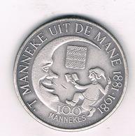 100 MANNEKE   1981 DIKSMUIDE BELGIE /3394/ - Belgique