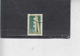 PORTOGALLO  1955 - Unificato  828 - Telegrafo - Comunicazioni - Usati