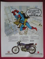 1979 SUZUKI SB200 MOTOR CYCLE.  ORIGINAL MAGAZINE ADVERT - Sonstige