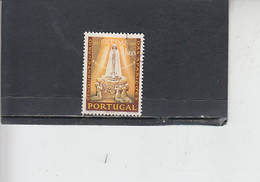 PORTOGALLO  1967 - Unificato  1010 - Fatima - Usati