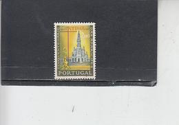 PORTOGALLO  1967 - Unificato  1011 - Fatima - Usati