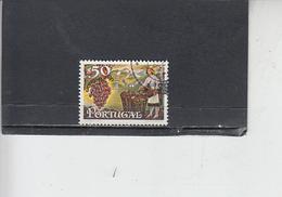 PORTOGALLO  1970 - Unificato  1097 - Bevande  - Alcolici - Vino - 1910 - ... Repubblica