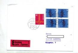 Lettre Cachet Melide Sur Europa - Marcophilie