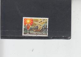 PORTOGALLO  1970 - Unificato  1099 - Bevande  - Alcolici - Vino - 1910 - ... Repubblica