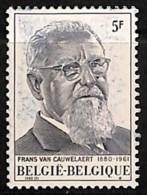 D - [812673]BELGIQUE 1980 - N° 1965, Fond Maculé, Jamais Vu Avant, Curiosité - Abarten Und Kuriositäten