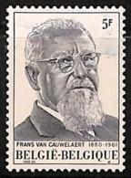 D - [812675]BELGIQUE 1980 - N° 1965, Fond Maculé, Jamais Vu Avant, Curiosité - Abarten Und Kuriositäten