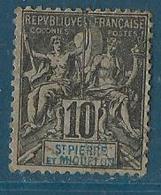 Saint Pierre Et Miquelon 1891 Yvert N° 63 - St.Pierre Et Miquelon